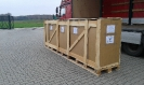 Drzwi 4,3m wys. / 4,3m high door - air transport